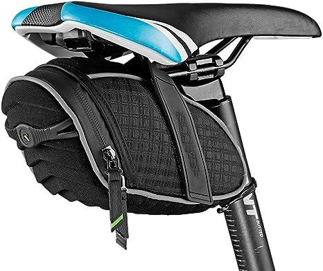 ZHLZH Bolsa Trasera para Bicicleta Sillin/Bolsa De Bicicleta 3D Shell Impermeable Alforja Bicicleta Reflectante Bolsa Shockproof Ciclismo Trasero Tija MTB Accesorios De Bicicletas,Black: Amazon.es: Deportes y aire libre