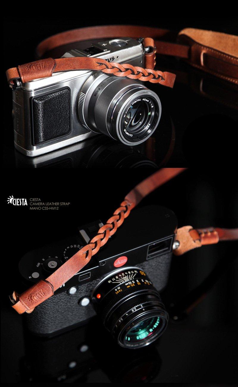 Ciesta css-hm12-a05 mano Funda de piel cámara correa para cámara ...