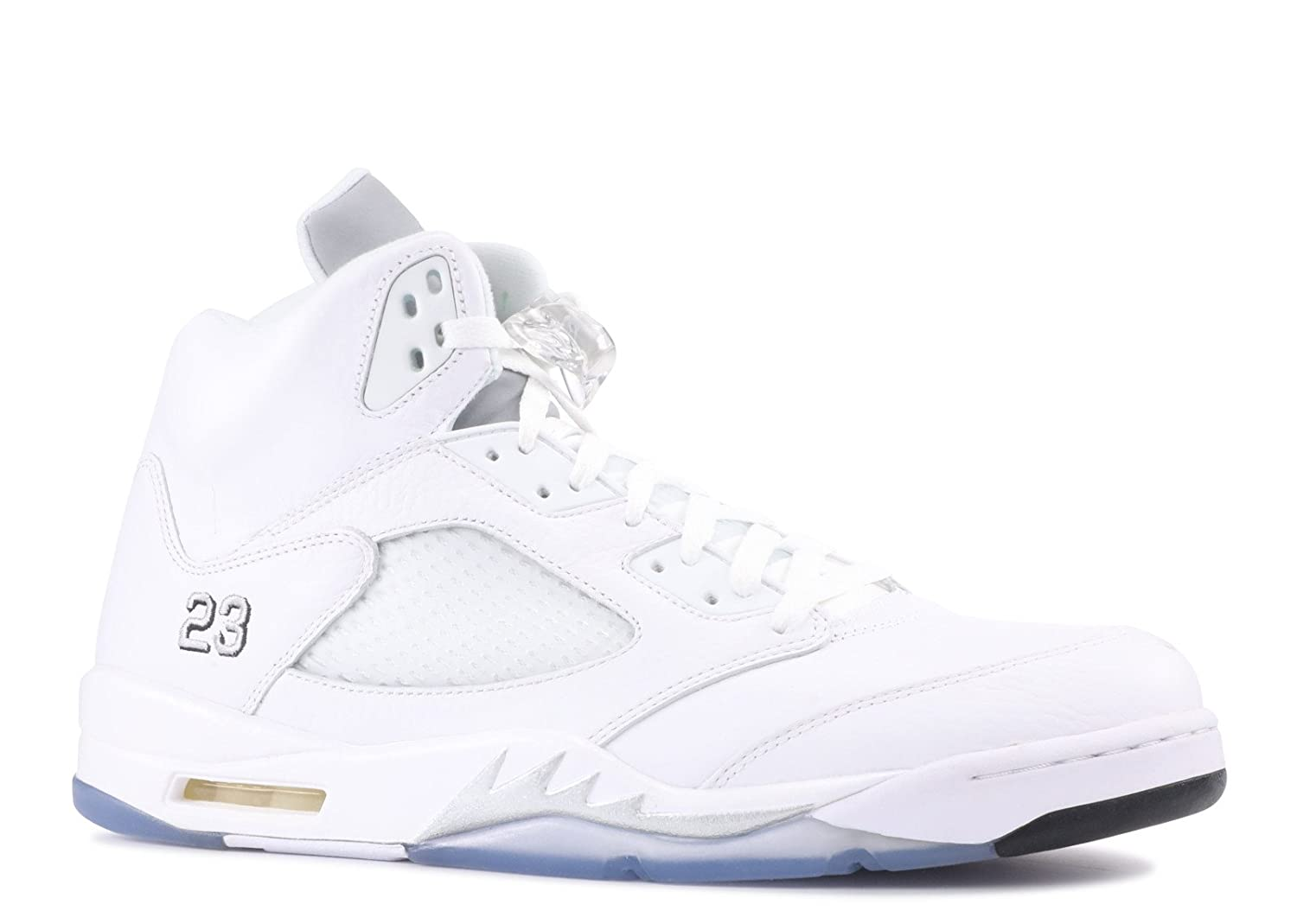 official photos fbc1c 31ecd air jordan 5 white