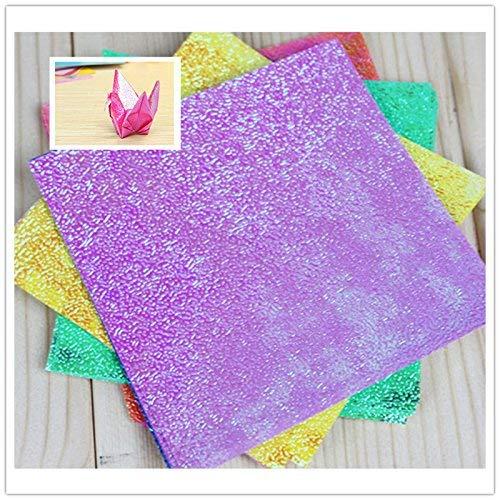 pliage color/é du papier pour origami et artisanat 50x Goodplan Papier de qualit/é sup/érieure pli/é en papier Origami sur une seule face
