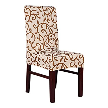 Amazon.com: TANGOGO Soft Chair Covers Stretch Spandex Seat ...