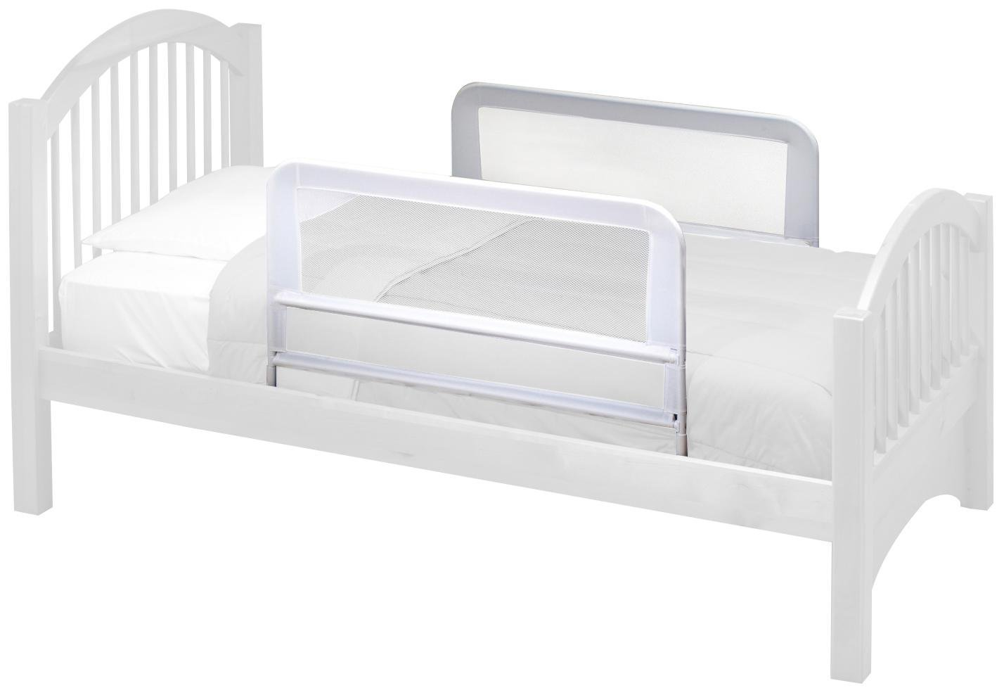 KidCo BR203 Children's Mesh Bed Rail, White Inc.