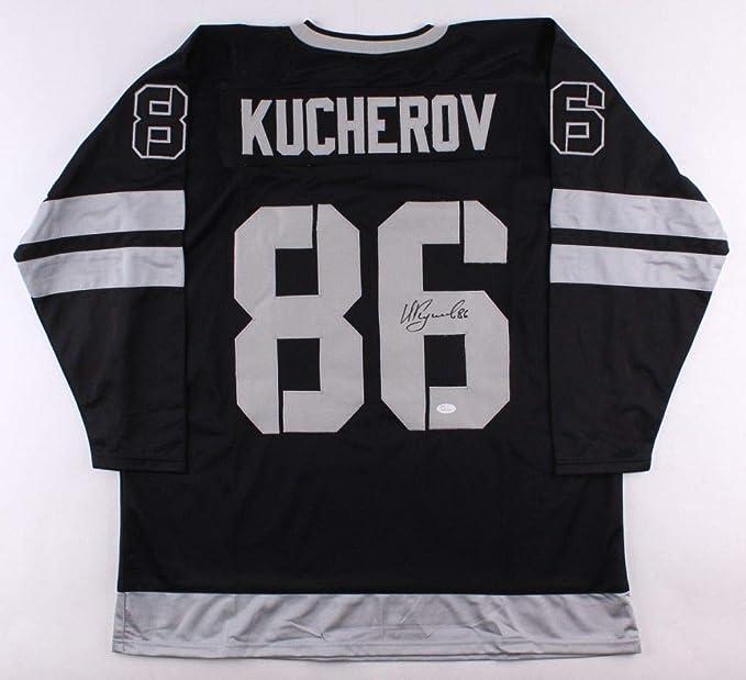 231ef414f Nikita Kucherov Autographed Signed Black Tampa Bay Lightning Jersey  - JSA  Certified at Amazon s Sports Collectibles Store