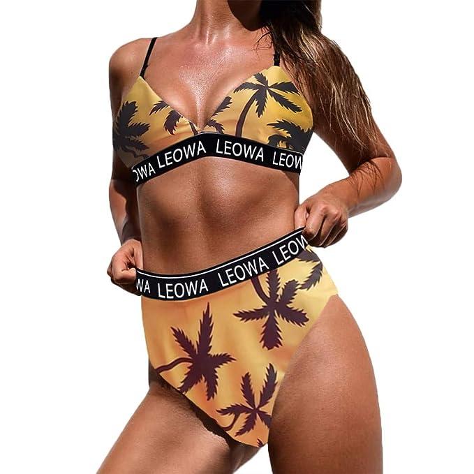 9f9e5fa58a Cocoty-Store 2019 Ropa Charming Sexy Boho Style 2 PCS Mujeres Push-up  Push-up Bra Bikini Set Traje de baño Traje de baño Traje de baño   Amazon.es  Ropa y ...
