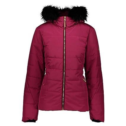 a9d3b961164 Obermeyer Beau Faux Fur Petite Womens Insulated Ski Jacket - 10p Enchant Me  Rose