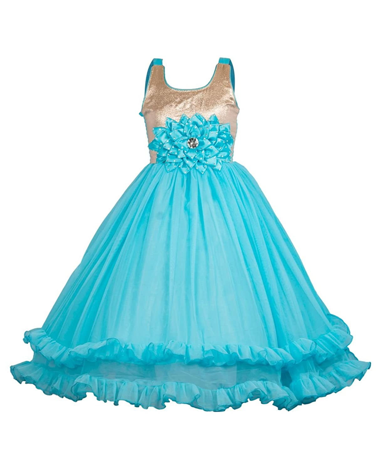 My Lil Princess Baby Girl\'s Net & Satin Birthday Party Dress: Amazon ...