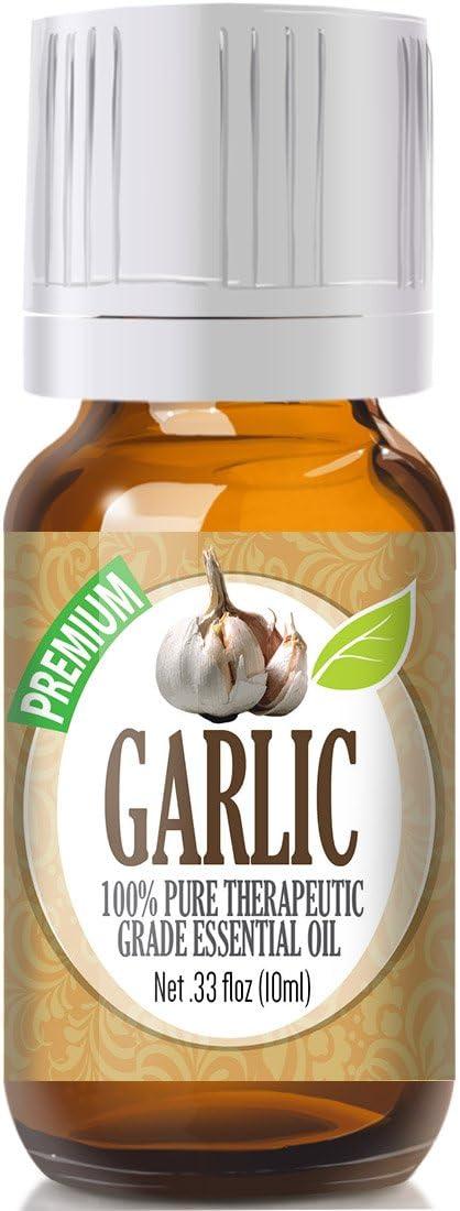 Garlic Essential Oil - 100% Pure Therapeutic Grade Garlic Oil - 10ml