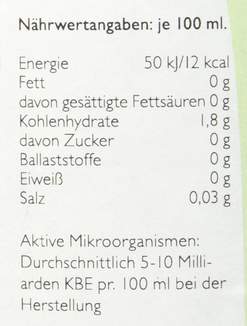Vita Biosa Kräuter 1 Liter öko Die Frische Und Saure Variante
