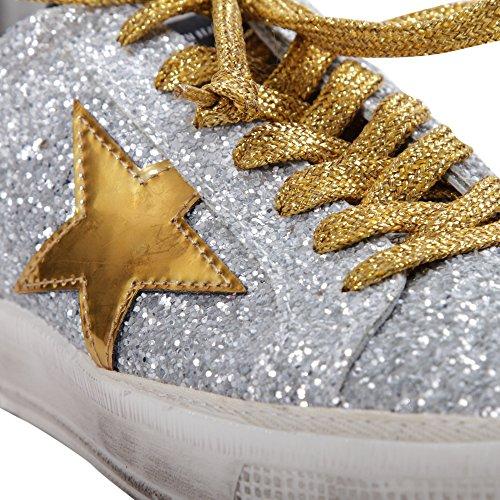 Golden Goose - Zapatillas de gimnasia para mujer plateado plateado 36 plateado