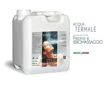 Metacril Agua termale para Spa, Jacuzzi y Piscina. Thermal Bath Exotic 5 lt.