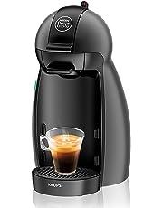 Nescafé Dolce Gusto Piccolo KP100B Macchina per Caffè Espresso e Altre Bevande Manuale Antracite di Krups [La confezione non contiene capsule in omaggio]