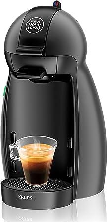 Krups KP100B Cafetera Dolce Gusto cápsulas, monodosis, 15 bares presión, cafés, cappuccino, multibebida, 1500 W, 0.6 litros, antracita: Amazon.es: Hogar