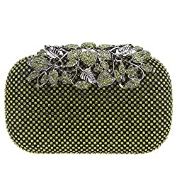 Flower Purses With Rhinestones Crystals