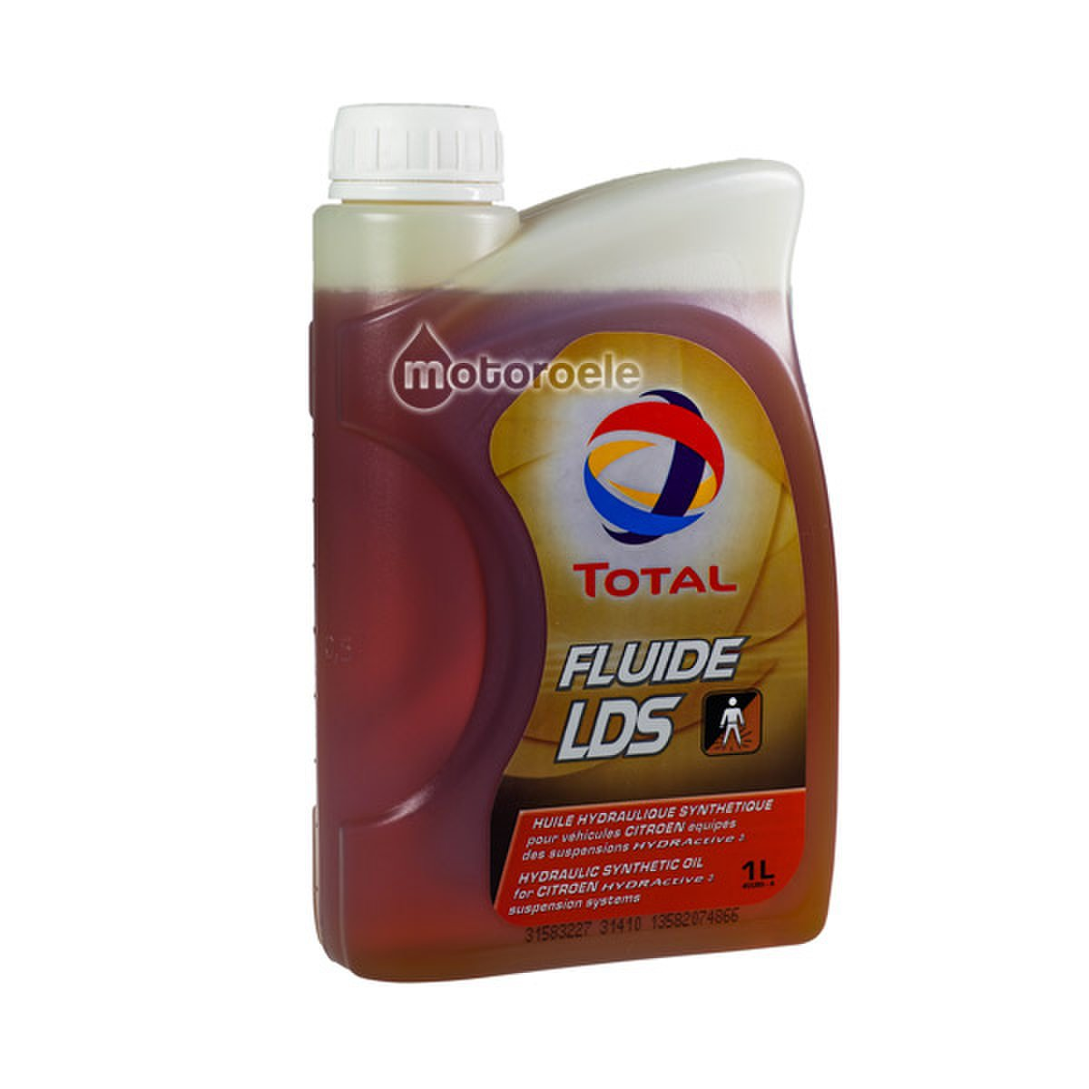 Total Fluide LDS Hydraulic Synthetic Oil 1 Litre 166224