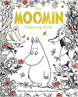 Amazon Com The Moomin Colouring Book Macmillan Classic Colouring