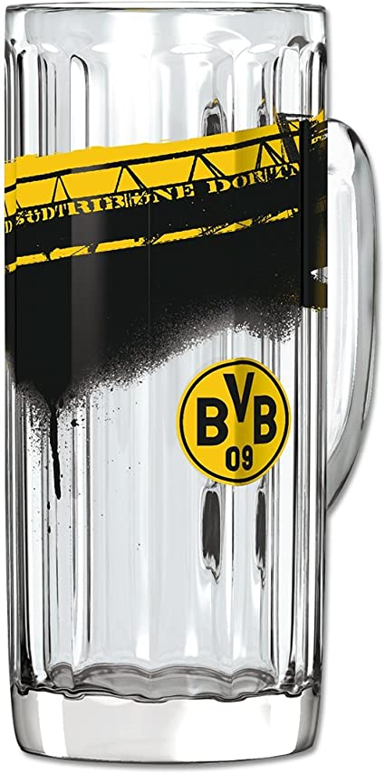 BVB Borussia Dortmund Bierkrug Retro 0,5 Liter