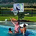 Lifetime Pool Side Adjustable Portable Basketball Hoop