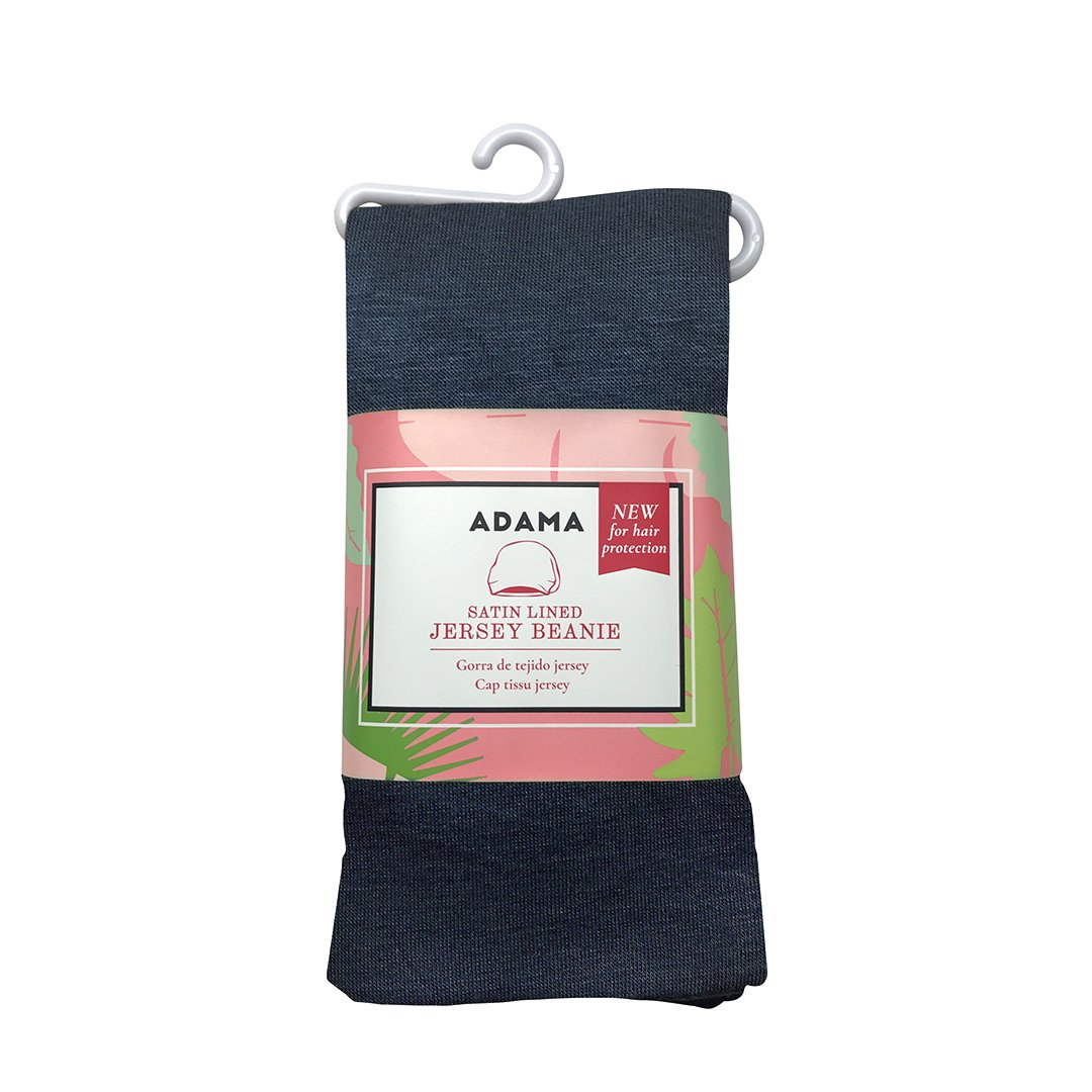 b01481bb647 Amazon.com  ADAMA Satin Lined Jersey Beanie