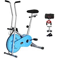 Lifeline Exercise Bike Combo (Blue) with Gym Bag,Sweat Belt,Tummy Trimmer and Skipping Rope