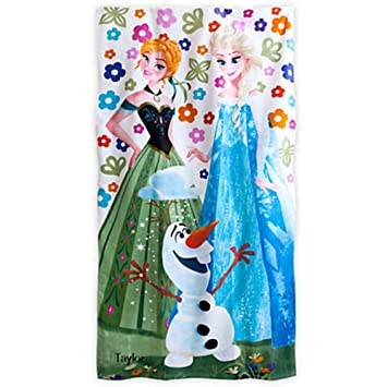 Amazon.com: Disney Store Exclusive Frozen Beach Towel: Home & Kitchen