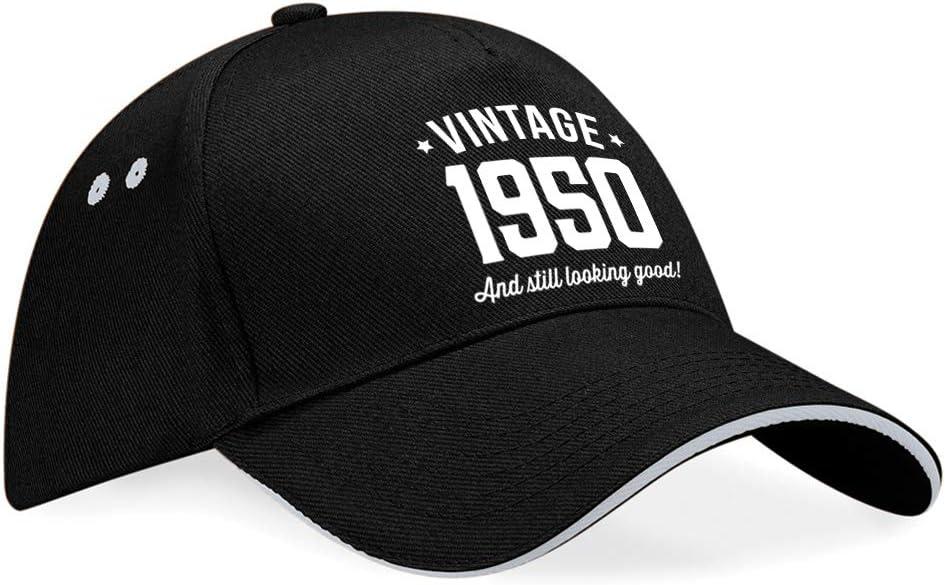 70 Geburtstagsgeschenk f/ür M/änner Frauen Vintage Geschenk Andenken Hut Baseball Cap