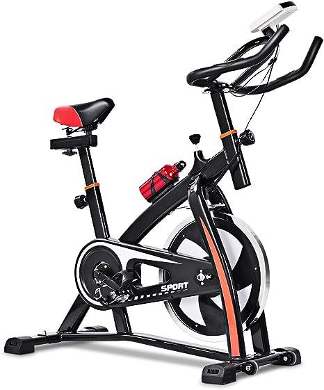 GOPLUS Bicicleta de Ejercicio Ajustable, Bicicleta estacionaria ...
