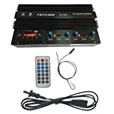 TOOGOO 12V 600W Pa-90A 2-Channel Car Amplifier