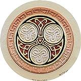 Celtic Family Circle - Cast Paper - Celtic Blessing - Irish art - Celtic art - Scottish art - Irish gift -Celtic Wheel - wall art decor