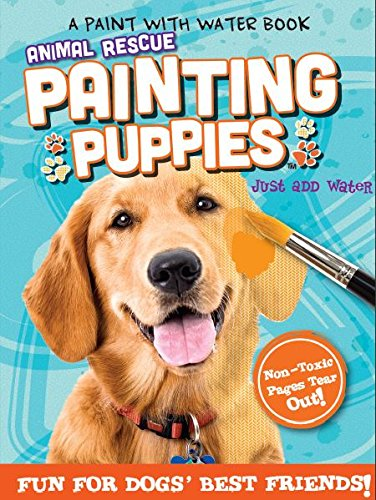 Animal Rescue Paint With Water Activity Book Fun For Dogs Best Friends