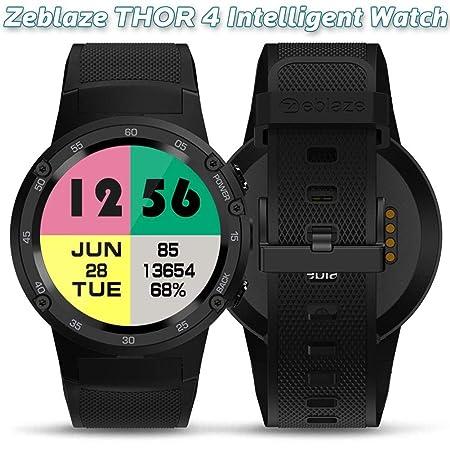 Bluetooth Smartwatch, Zeblaze THOR 4 Flagship 4G LTE GPS ...
