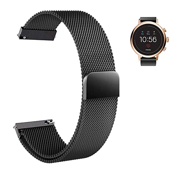 Amazon.com: Aemus Compatible Fossil Gen 4 Q Venture HR Watch ...