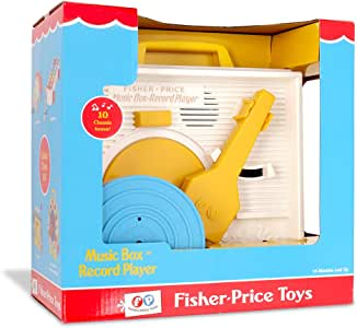 Fisher Price Classic Toys - Retro Music Box Record Player - Great Pre-School Gift for Girls and Boys