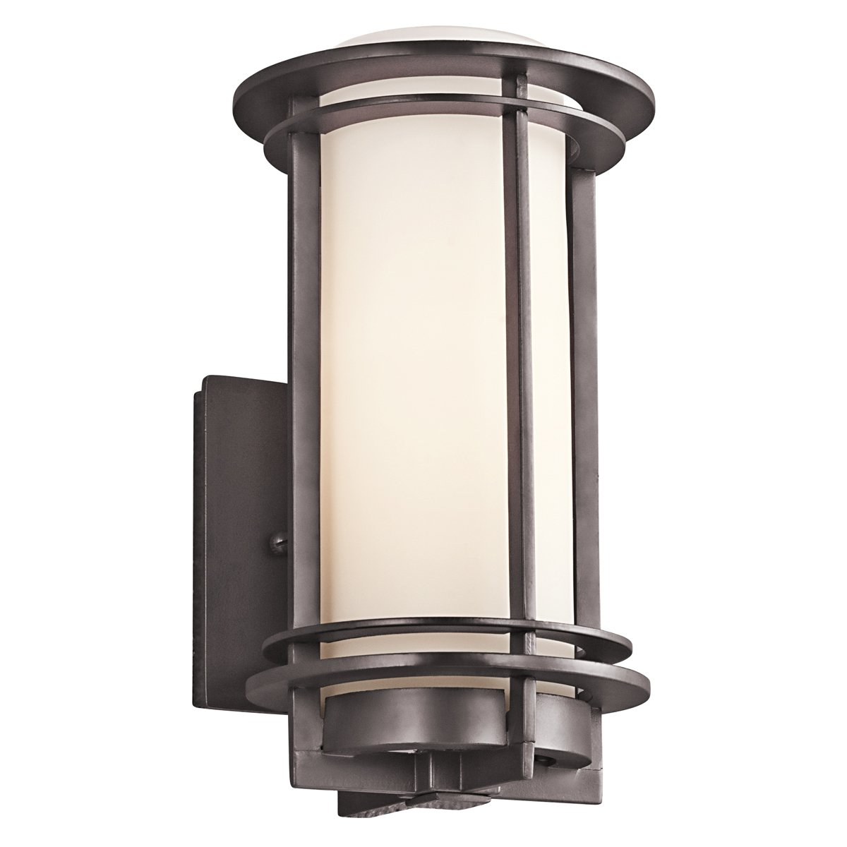 Outdoor Sconce Lights Kichler 49344az one light outdoor wall mount wall sconces amazon workwithnaturefo