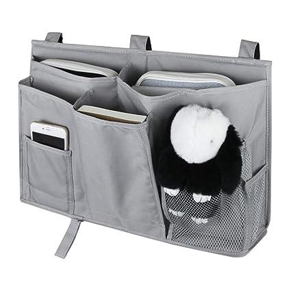 f13d98a064c2 Amazon.com: 8 Pockets Bedside Hanging Bag Storage Organizer Bed ...