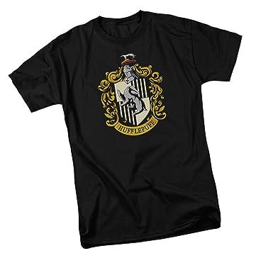 61b740706 Amazon.com: Hufflepuff Crest -- Harry Potter Youth T-Shirt: Clothing