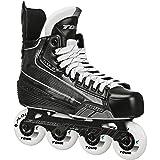 TOUR Code 5 Junior Inline Hockey Skates Black Size: 2 Black