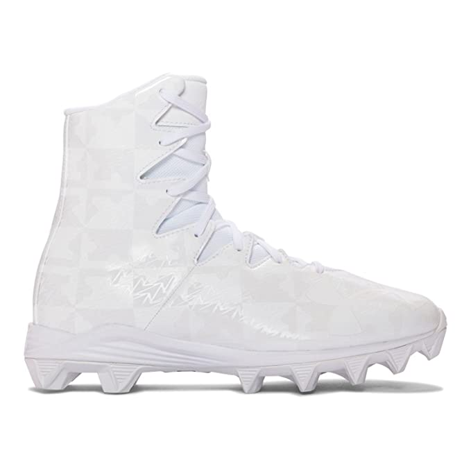 ddaf8696ad2c1 Amazon.com: Under Armour Highlight RM Youth Lacrosse Cleats - White ...