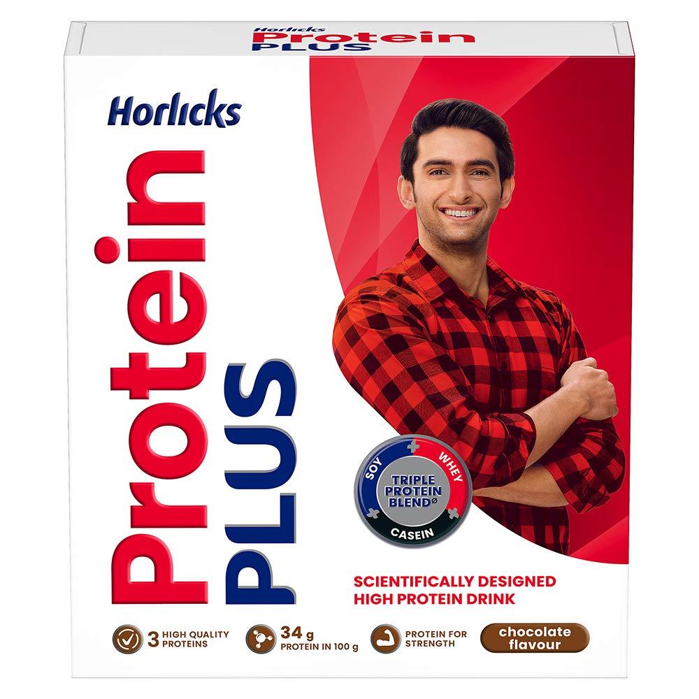 Horlicks Protein Plus Chocolate Carton, 200 g