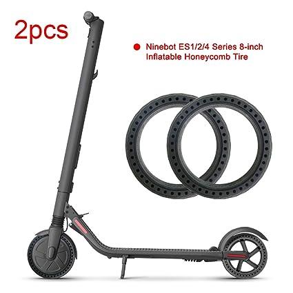 TiooDre Scooter eléctrico de neumáticos, de 8 Pulgadas de ...