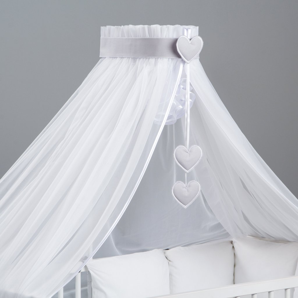 hanging Decorations Holder Lovely Canopy//Mosquito Net for Baby Cot Bed Crib Designed by Dreamzzz handmade 3 element set