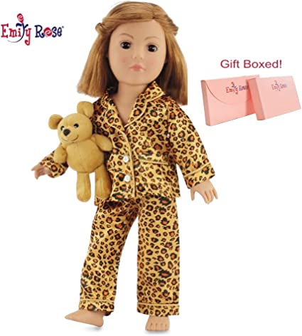 Yellow Fuzzy Robe fits American Girl 18 inch doll clothes