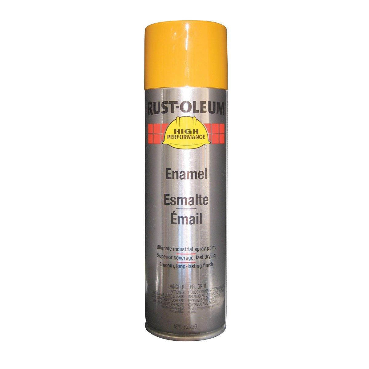 cat yellow spray can