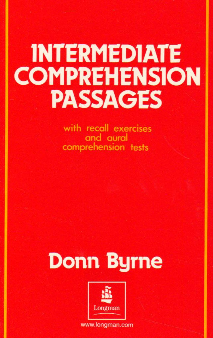 - Intermediate Comprehension Passages: With Recall Exercises And