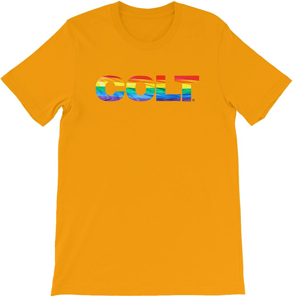 COLT Pride Logo Tee Gold