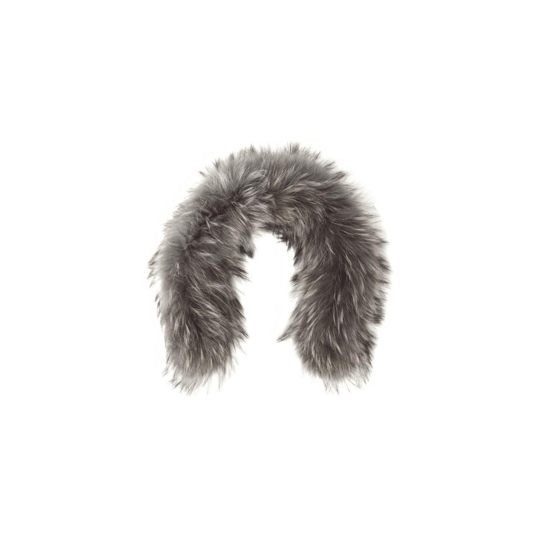 YOU.U Women Faux Fur Collar Fluffy Elegant Collar for Winter Coat - Beige