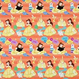 Hallmark Disney Princess Wrapping Paper with Cut