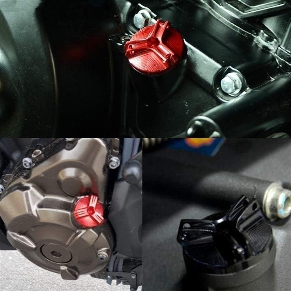 Color : Black Huile Bouchon de Remplissage for Suzuki TL TL1000R 1000R TL1000 R 2003 2004 Accessoires 1998-2002 CNC Moteur Bouchon de vidange Puisard Nut Cup Cover