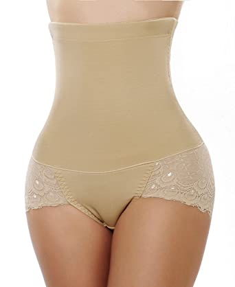 14c648033ac3 Women's High Waisted Tummy Control Seamless Underwear Lift Hip Lifter  Enhance Body Training Pants: Amazon.co.uk: Clothing