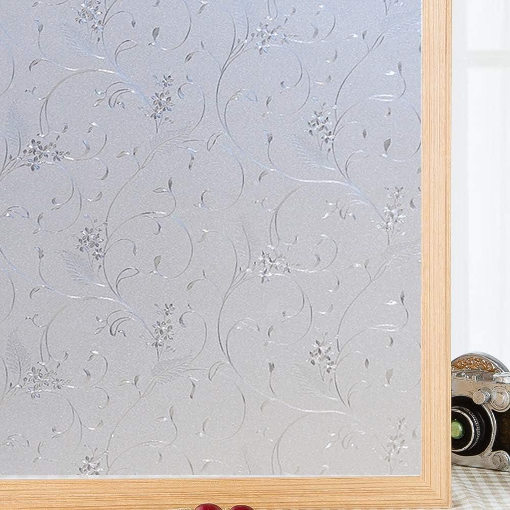Film occultant vitre GIVRE verre d/époli au m/ètre largeur 45cm