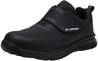 LARNMERN Steel Toe shoe Women